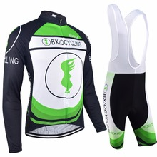 Bxio New Mix Type Cycling Set Long Sleeve Bike Clothing Ropa Ciclismo Bicycle Clothes Cycling Sets Maillot Ciclismo BX-017MIX