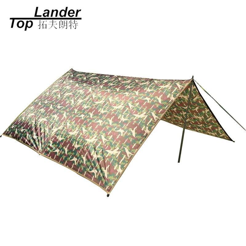 Сверхлегкий Кемпинг Брезент палатка солнце приют большой Риан брезент автомобиля водонепроницаемый чехол тент от солнца нейлон камуфляж, ...