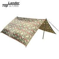 Ultraleicht Camping Tarp Sun Shelter Zelt Große Rian Auto Plane Wasserdichte Abdeckung Markise Sonnenschutz Nylon Camouflage Tarps-in Sonnenschutz aus Sport und Unterhaltung bei