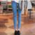 Cintura elástica Pantalones Vaqueros Para la Ropa de Embarazo Para Las Mujeres Embarazadas de Maternidad Legging Otoño/Invierno Maternidad Tallas grandes Pantalones