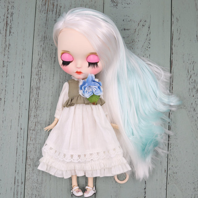 Juliette – Premium Custom Blythe Doll with Clothes Cute Face