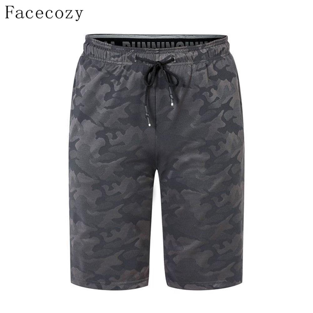 Facecozy heren zomer camouflage buitensporten shorts elastische - Kamperen en wandelen