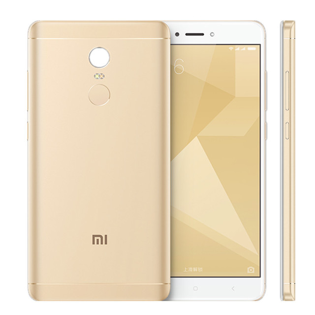 Xiaomi Redmi Note 4X 4GB RAM 64GB ROM Mobile Phone Snapdragon 625 Octa Core CPU 5.5″ 1080p display 13MP Camera 4100mah MIUI8.1