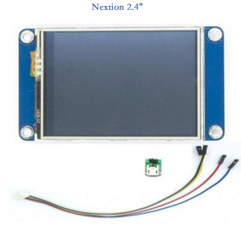 Nextion 2.4 Generic TFT Intelligent LCD Touch Display 320 x 240 Resistive Smart raspberry For Arduino TFT English Version