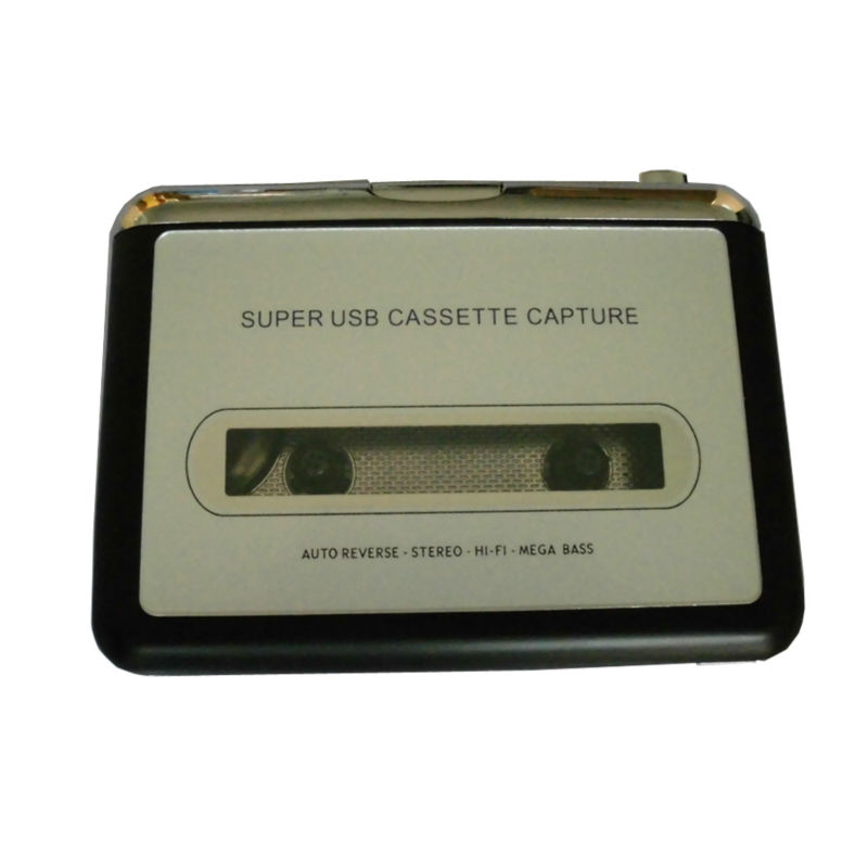 Super USB Cassette Capture Radio Player Portable USB Cassette Tape to MP3 Converter Capture Adapter EC007