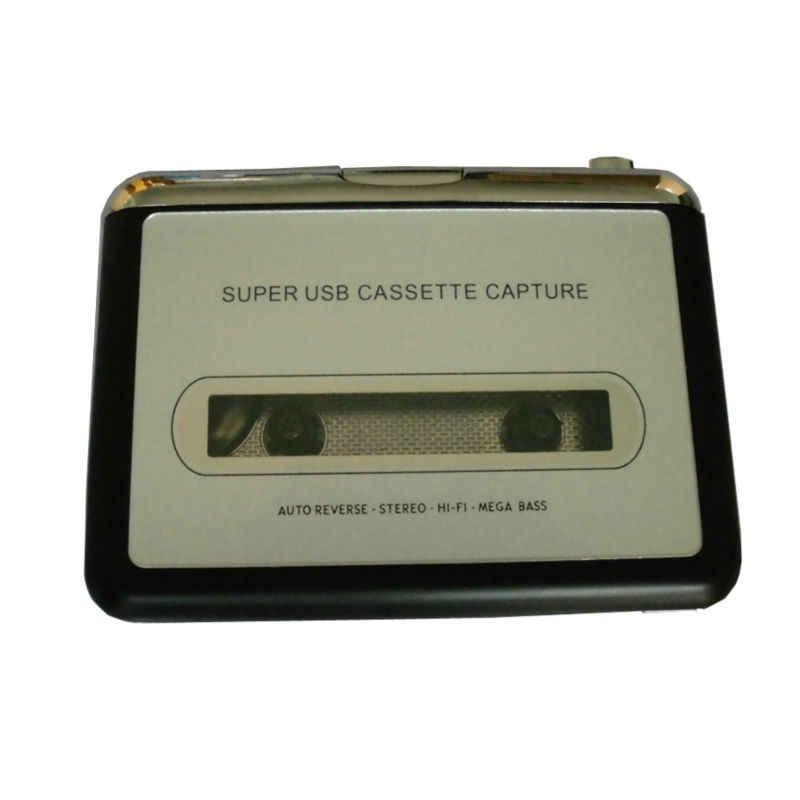 Super USB Kaset Menangkap Radio Player Portabel USB Kaset Tape untuk MP3 Converter Menangkap Adaptor EC007