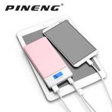 Pineng Power Bank 10000mAh External Battery Mobile Charger PN-993 QC3.0 Quick Charger with Type-C Port USB Powerbank