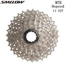 SUNSHINE-SZ 9 Speed 11-32T MTB Mountain Bike Cassette 9s 18s 27s 32t Freewheel Bicycle Flywheel for parts M370 M430 M4000 M590 цены