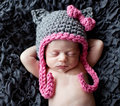 On sale free shipping newborn baby hat girl bowknot caps cotton baby hat baby photo props