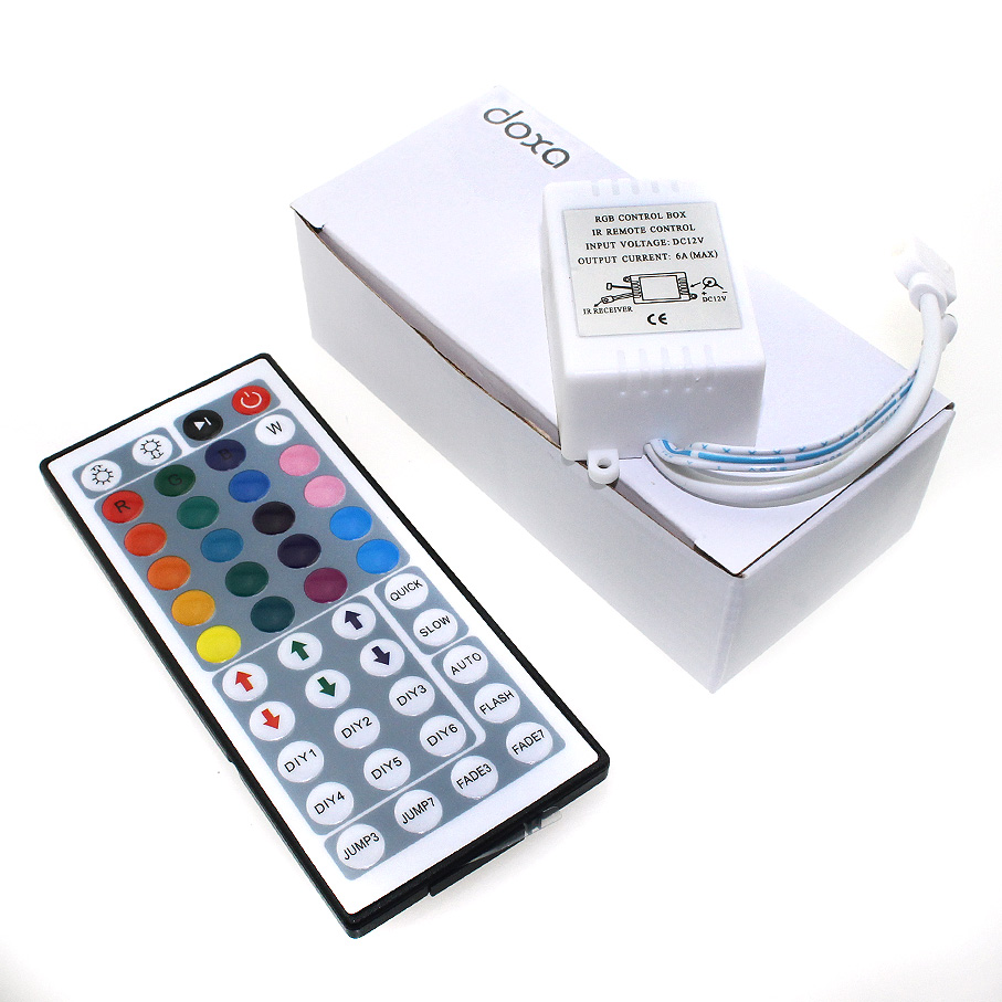 Hot Sale 24 44 Key Ir Rf Led Rgb Mini Controller Dc 5v 12v 24v Wifi Pic Remote Control Wireless