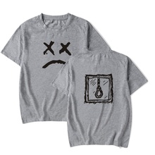 New Men T-Shirts Classic Design Short Sleeve T-Shirt Fashion Funny Print Round Neck Streetwear Tee Shirts Male Casual Loose Tops blue round neck random print t shirts