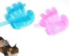 Pet Healthcare Bath Massage Glove Brush Comb Pet Dog Cat Fingers Brush Hand Shampoo Grooming Washing Tool(China)