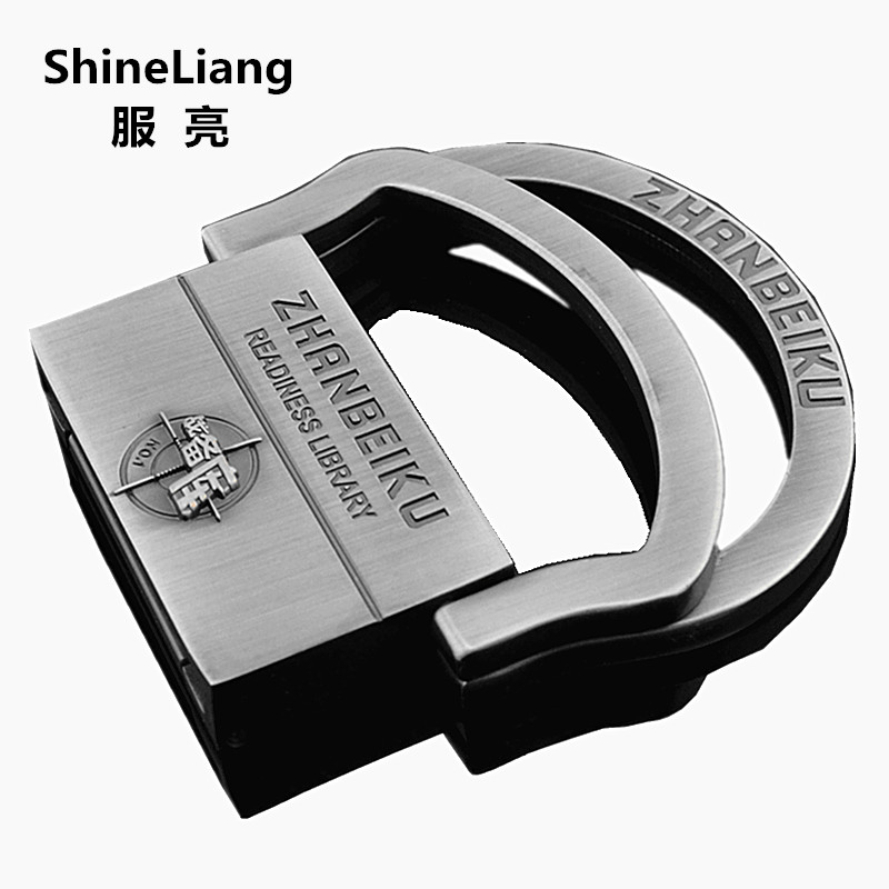 Men's Tactical Belt Buckle Alloy Material Double Ring Structure Application Of Military Canvas Body Width 3.8CM Designers Brand