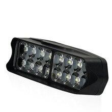 New 5000K Motorcycle LED Spotlight Electric Car Super Bright Work Light off-road Top Probe Headlight