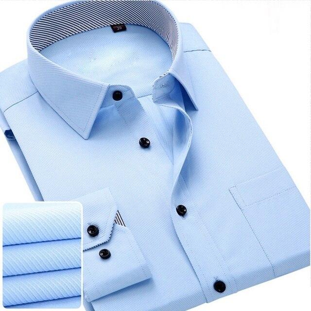 e97e993880a 2016 Spring Latest Design Fashion Collar Business Men Dress Shirts Long  Sleeve Elegant High Quality Formal