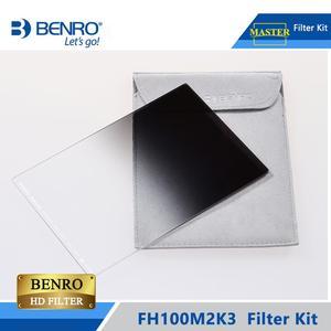 Image 5 - Benro FH100M2K3 100mm filtre Kit système ND/GND/CPL filtre tenir Support pour plus de 16mm large ange lentille DHL livraison gratuite