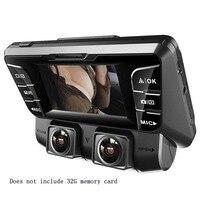 V28 HD объектив видео карты 128G камера для автомобиля DVR Ночь SD видения Регистраторы с тире Камера