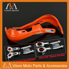 Motorcycle  Handle bar handguards Hand Guards 7/8 22mm Or 1-1/8 28mm Fat Bar For KTM EXC ADV SMR SXS Super Moto Dirt Bik