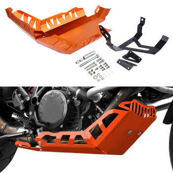 Motorcycle Engine Guard Protector and Mounting Kits For KTM 1050 1090 1190 1290 Adventure Super Adventure 2014-2018