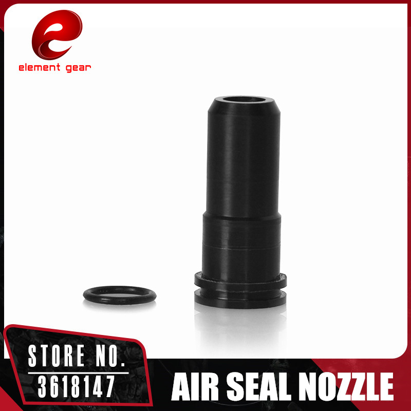 Element Nylon Plastic Doble O Ring Air Seal Nozzle for AK Series Airsoft AEG IN0701