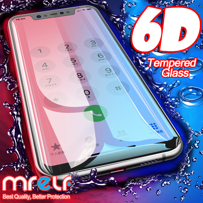 6D на стекле для Xiaomi Redmi Note 7 6 Pro 5 4X протектор экрана Redmi 7A Note 7 5 6 Pro защита экрана закаленное защитное стекло для Xiaomi Mi 9 SE 8 A2 Lite A3 CC9 CC9E Mi 9 безопасн...