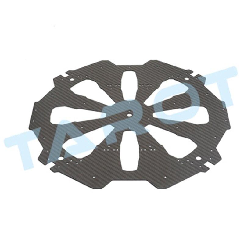 Quadcopter cadre kit tarot X4 pur Fiber De Carbone Plaque Supérieure rc multicopter cadre tarot carbone plaque diy drone profissional kit