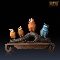 Master copper copper ornaments a pro (painted version) Home Furnishing copper crafts jewelry ornaments