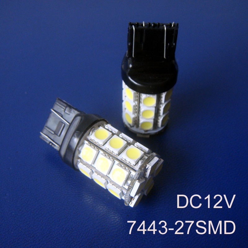 High quality,12V 7443 Car <font><b>Led</b></font>,7443 Brake Light,W21/5W wedge,car 7443 light,<font><b>t20</b></font> car Stoplight,<font><b>t20</b></font> <font><b>Rear</b></font> Lamp,free shipping 2pc/lot image
