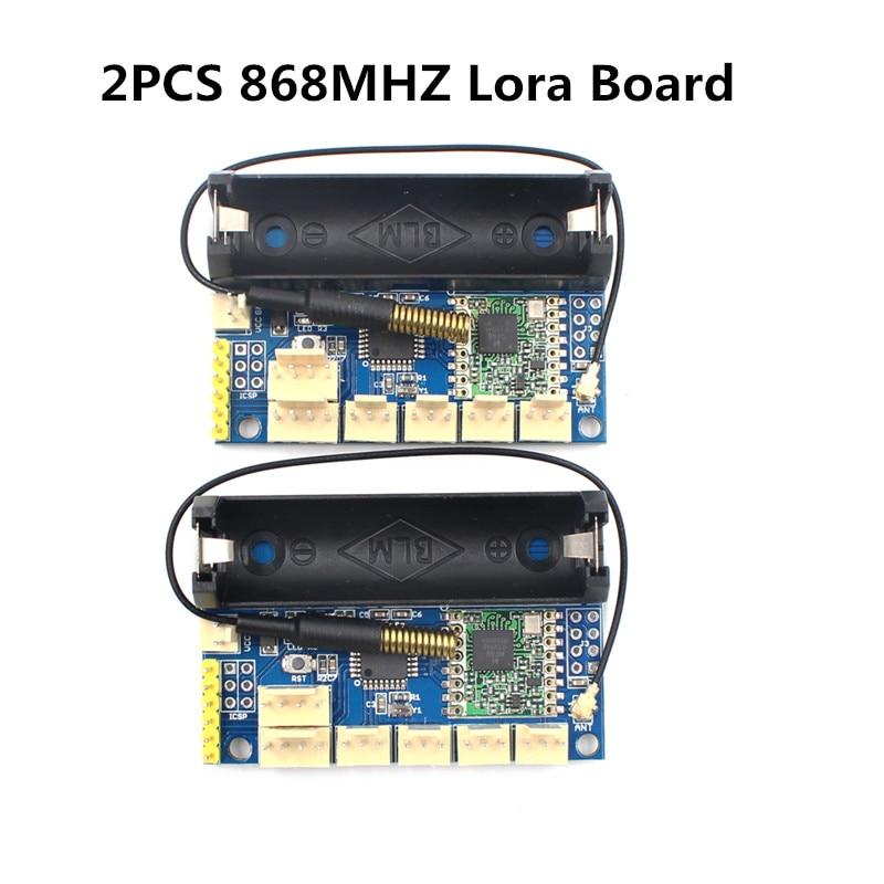 2pcs lot 868Mhz Lora Radio Node V1 0 SX1276 Rola 868Mhz Radio Module ATmega328P RFM98 Wireless