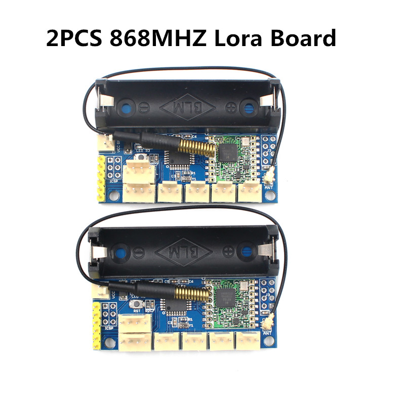 2pcs/lot 868Mhz Lora Radio Node V1.0 SX1276 Rola 868Mhz Radio Module ATmega328P RFM98 Wireless DIY Kit for Arduino pro mini все цены
