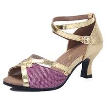 Zapatos de baile latino para mujer Tango Samba Kizomba fiesta baile de salón  zapatos de baile de vals tacones altos 6 cm negro 353db9511d1d
