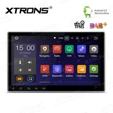 "XTRONS 10.1"" Android 6.0 Quad Core Universal Car Stereo Player NO DVD drive"
