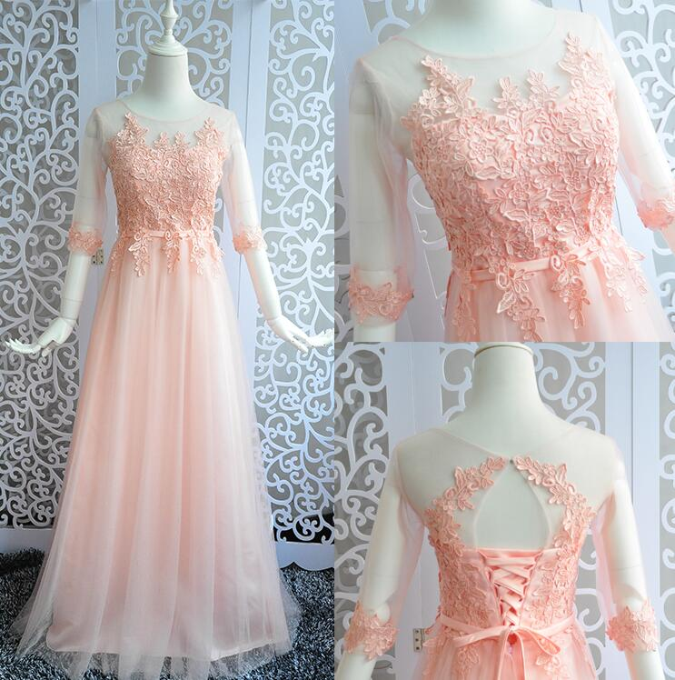 Online get cheap peach plus size wedding dress aliexpress for Peach dresses for wedding