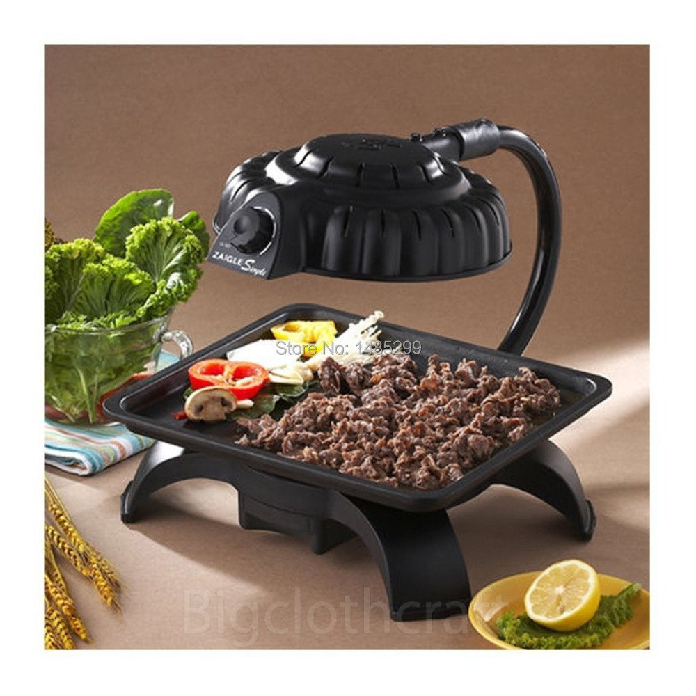 2015 ZAIGLE Simple Well being Indoor Electric Infrared Light Grill ...