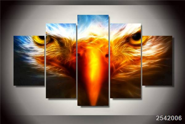 Hd Printed Eagle Painting On Canvas Room Decoration Print Poster Picture Canvas Free Shipping/Ny-2758 Christmas gift Animal