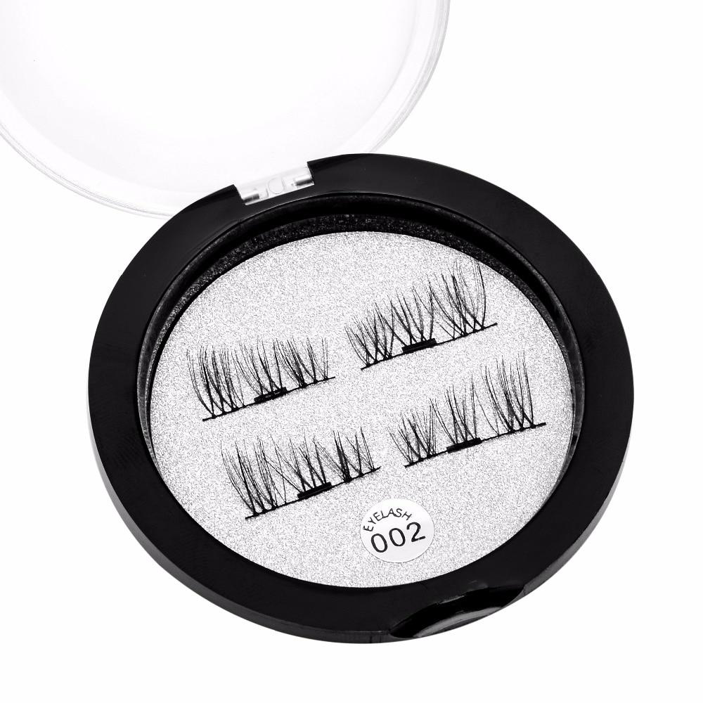 523298b35da Natural Look Magnetic Lash Strips False Eyelashes Reusable Eyelash  Extension Simple Apply Magnet Lashes Comstic Tool 002