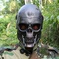 Oído-protectora Terminator Mascarilla facial Airsoft Paintball Máscara protectora CS Wargame el Campo de juego de halloween Cosplay Película Prop