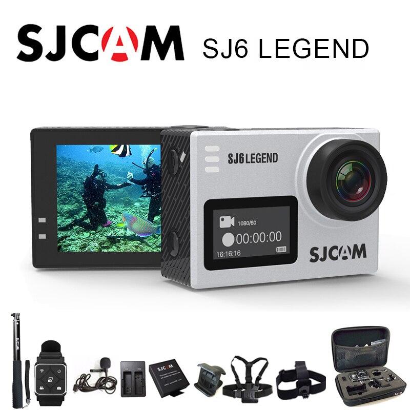 SJCAM SJ6 Légende Sport Action Caméra 4 k Wifi 30 m Étanche 1080 p Ultra HD 2 Écran Tactile notavek 96660 À Distance Sport DV