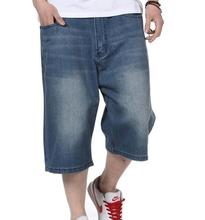 Новый семь центов джинсы мужчины Высокого качества хип-хоп Мода Европейских мужчин повседневная denim Гольфы Брюки