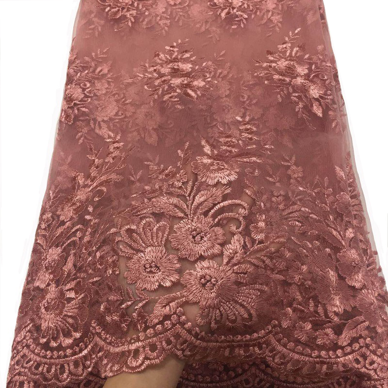 PROMOTION SALE . 2yard/lot By Epacket High Quality French Net Lace African Lace Fabric For Wedding Dress Free Shipping