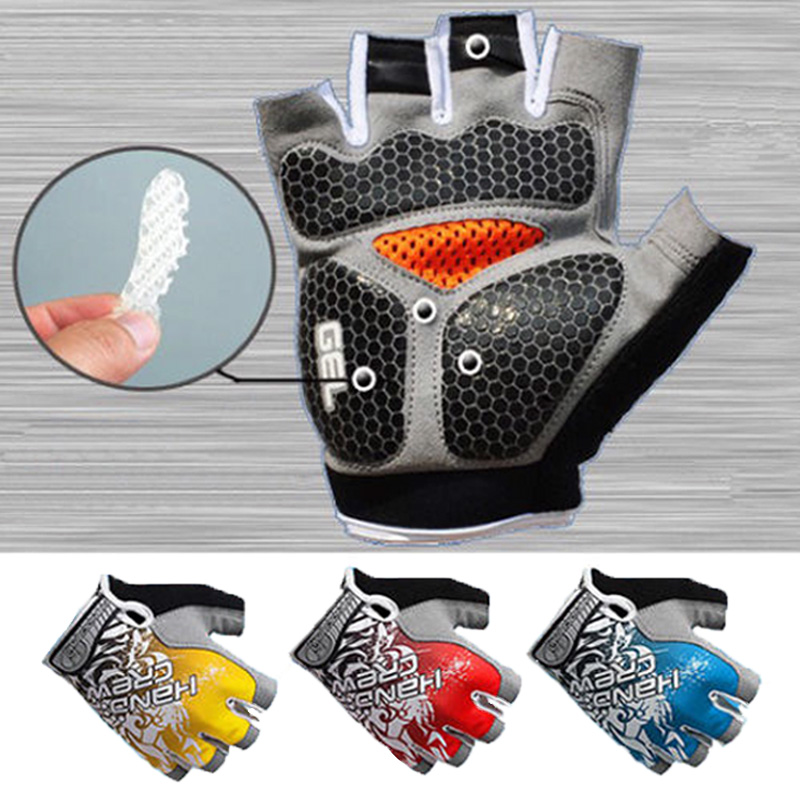 Men & Women's Sports 3D Gel Padded Anti-Slip Glove...