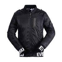 2018 Evisu Men Jacket Casual Autumn Jacket Man Hip Hop Style Print Pattern2018 Fashion Causal Jacket Men Black Jacket 1619