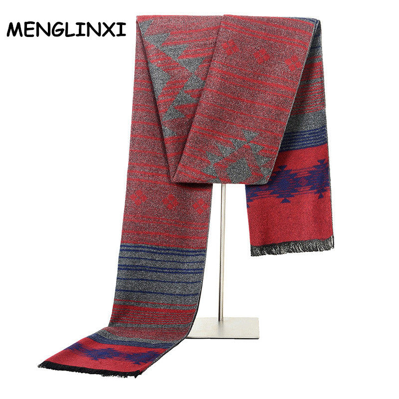 Cashmere Scarf Shawl Fashion-Design Bussiness High-Quality Luxury Brand Man Newest Men