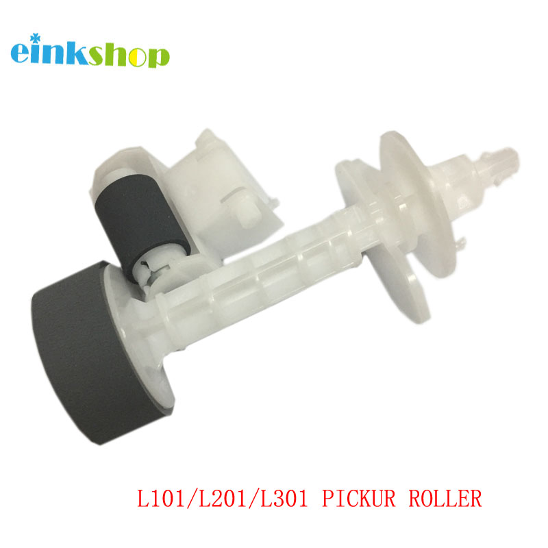 einkshop New Pickup Roller For <font><b>Epson</b></font> L101 L111 L211 L201 L301 <font><b>L200</b></font> L351 L353 L355 L358 L551 <font><b>Printer</b></font> image