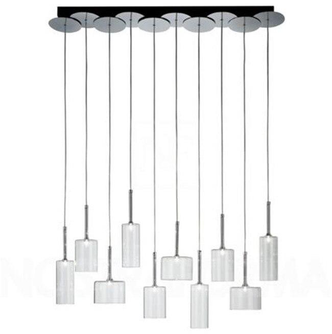 Новинка, горячая распродажа! Современная Axo Light spillray 10 подвесной светильник