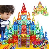 BD Toys 252pcsMagnetic Blocks Mini Magnetic Designer Construction 3D Model Magnetic Blocks Educational Toys For Children