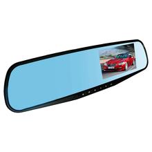 Ezonetronics retrovisor do carro da câmera espelho gravador dvr lente dupla full hd 1080 p 4.3 'tft lcd motion detection night vision 2010