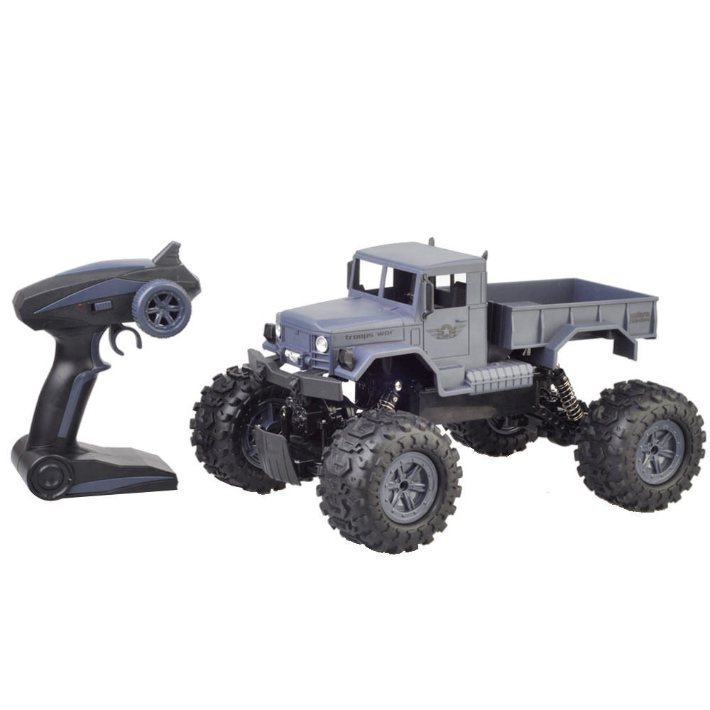 RC Car 1:12 4WD Waterproof Climbing RC Crawler Desert Truck Car RTR Remote Control Car RC Electric Car Off Road Truck Toys willys jeep 1 10