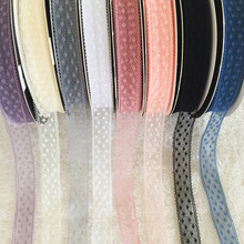 10yards Polka Dot Polyester Ribbon, 1.8cm Width Embroidered Lace Webbing for DIY Decoration Accessories, Holiday Decorations