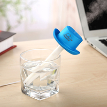 Mini Cartoon USB Humidifier Cowboy Hat Car Humidifier Aromatherapy Spray Machine Household Water Bottle Cap Humidifier